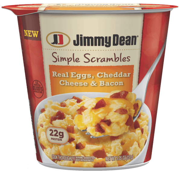 $1.00 for Jimmy Dean® Simple Scrambles™. Offer available at multiple stores.