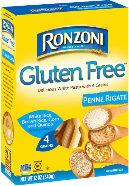 $1.00 for Ronzoni® Gluten Free Pasta (expiring on Sunday, 12/02/2018). Offer available at multiple stores.