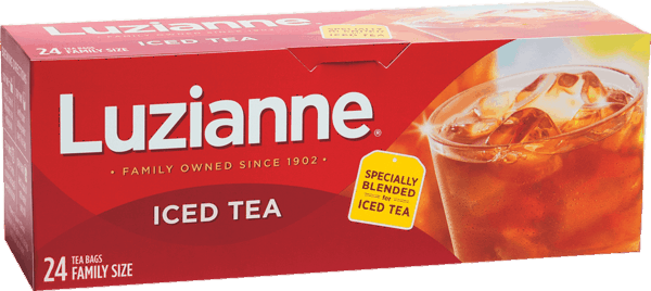 $0.25 for Luzianne® Family Tea Bags (expiring on Monday, 07/02/2018). Offer available at multiple stores.