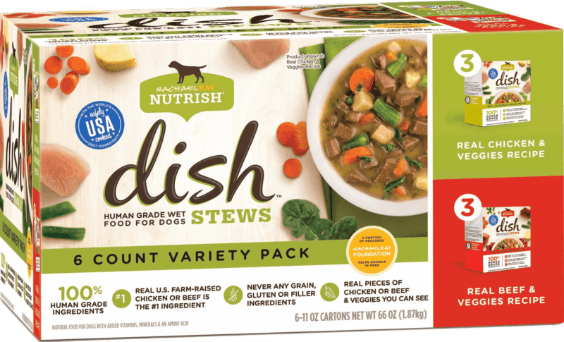 $1.50 for Rachael Ray™ Nutrish® Wet Dog Food. Offer available at multiple stores.