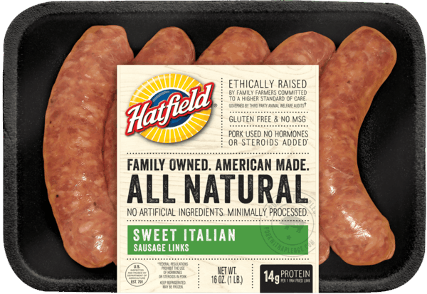 $1.50 for Hatfield® Sausage Links or Ropes. Offer available at multiple stores.