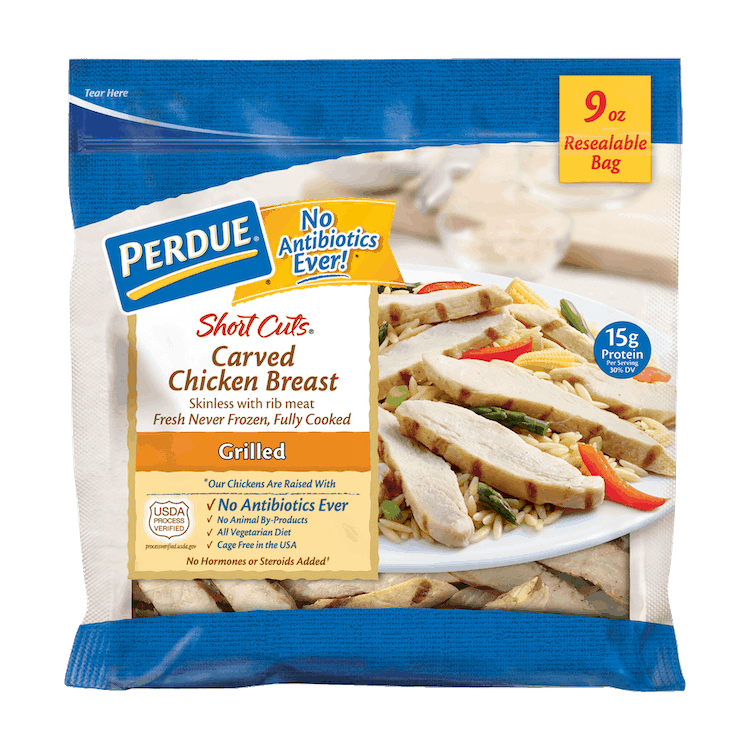 $0.75 for PERDUE® Short Cuts (expiring on Monday, 10/04/2021). Offer available at Safeway.
