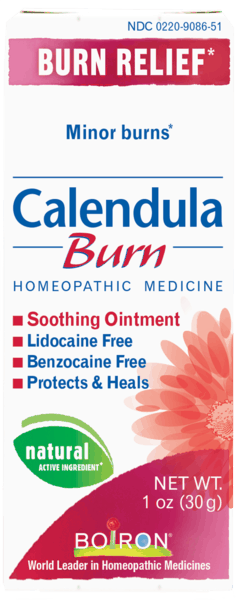$2.00 for Boiron® Calendula Burn (expiring on Wednesday, 08/01/2018). Offer available at CVS Pharmacy.