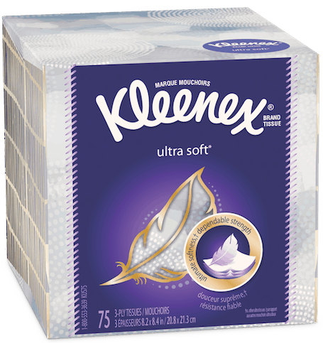 $0.50 for Kleenex® (expiring on Monday, 07/02/2018). Offer available at Walmart.