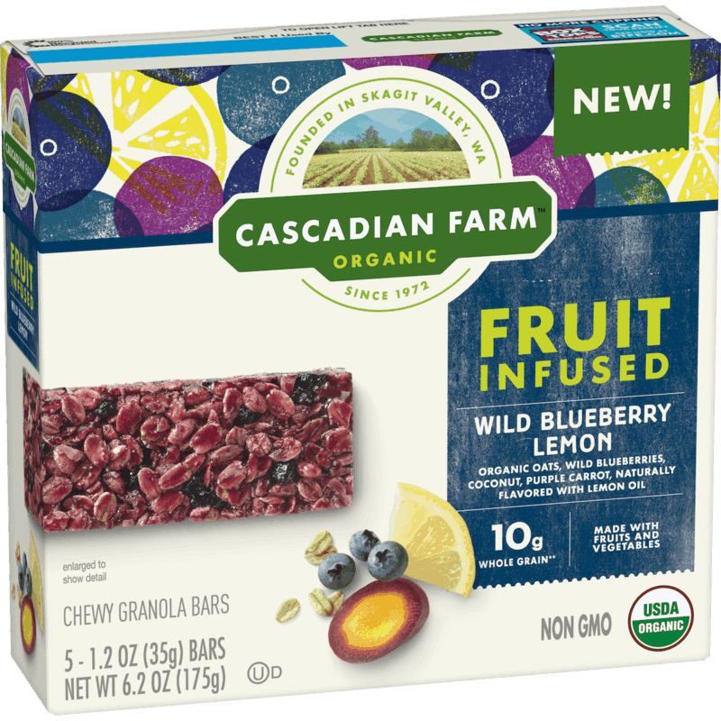 $0.50 for Cascadian Farm Bars (expiring on Wednesday, 05/20/2020). Offer available at Sprouts Farmers Market.