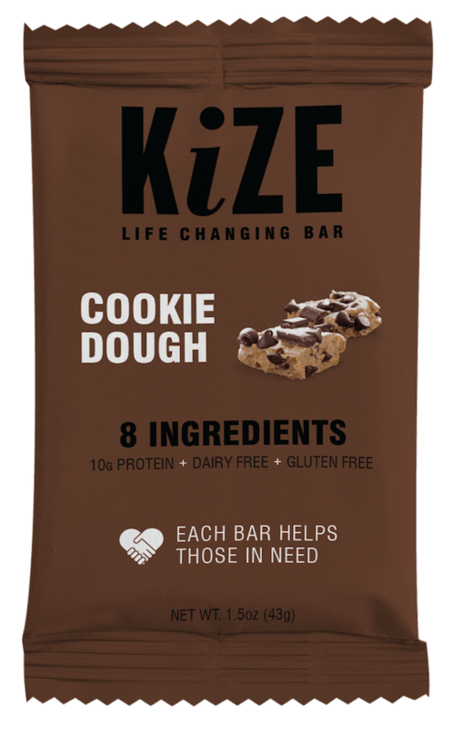 $0.50 for KiZE Bars (expiring on Friday, 11/27/2020). Offer available at Walmart, Walmart Grocery.
