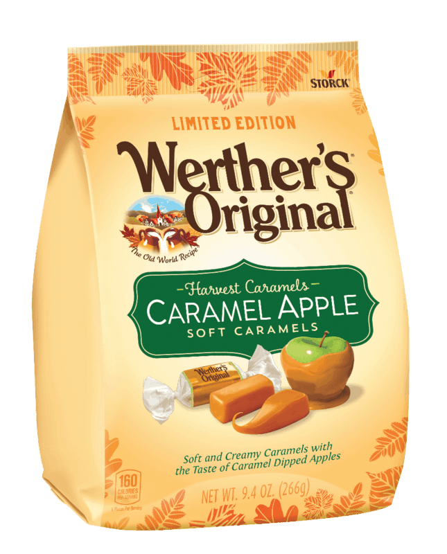 $0.75 for Werther's® Original® Harvest Caramels. Offer available at multiple stores.
