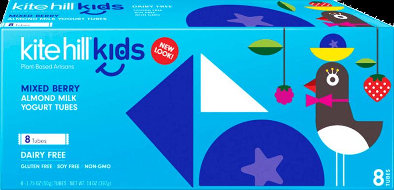$1.00 for Kite Hill® Kids Almond Milk Yogurt Tube (expiring on Sunday, 02/02/2020). Offer available at multiple stores.