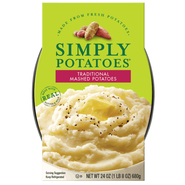 $0.50 for Simply Potatoes® Mashed Potatoes (expiring on Tuesday, 10/02/2018). Offer available at multiple stores.