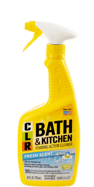 $0.75 for CLR® Bath & Kitchen Cleaner (expiring on Monday, 01/01/2018). Offer available at multiple stores.