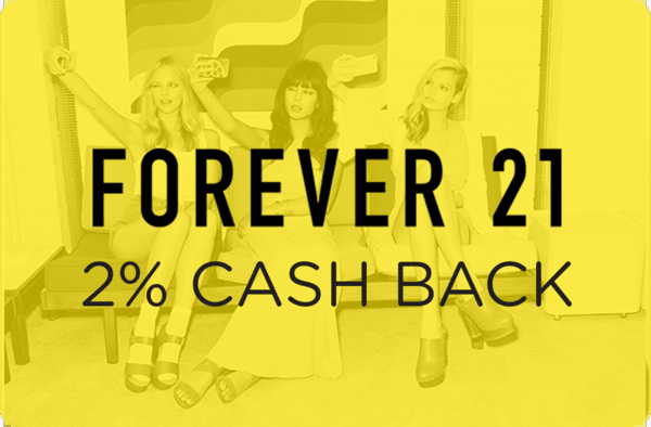 $0.00 for Forever21.com (expiring on Tuesday, 02/26/2019). Offer available at Forever 21.
