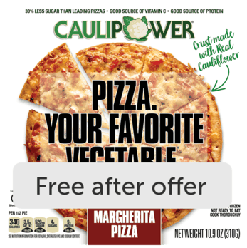 CAULIPOWER Pizza or Crusts