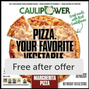 CAULIPOWER Pizza or Crusts