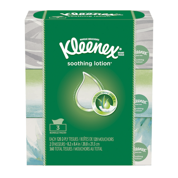 $0.75 for Kleenex® Brand Tissue. Offer available at multiple stores.