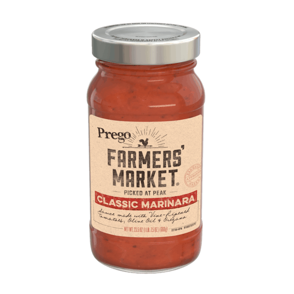 $1.00 for Prego Farmers' Market® Pasta Sauce (expiring on Wednesday, 01/02/2019). Offer available at Walmart.
