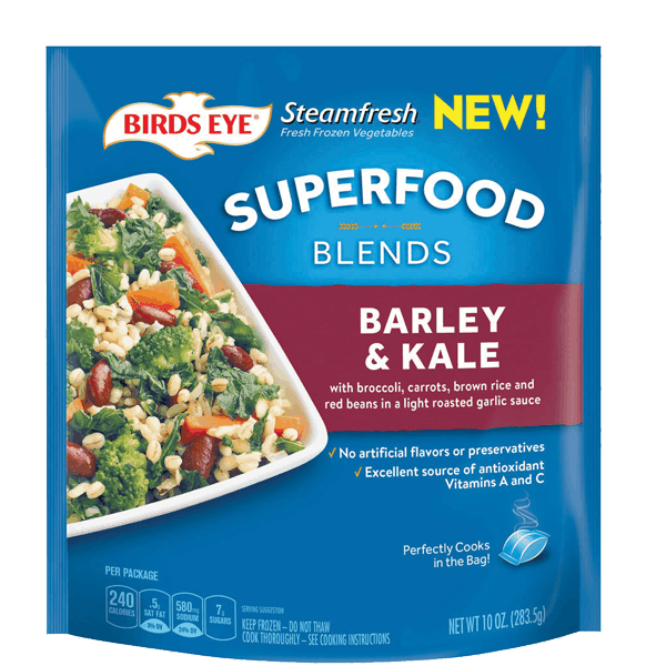 $0.75 for BIRDS EYE® Superfood Blends (expiring on Friday, 01/19/2018). Offer available at Walmart.