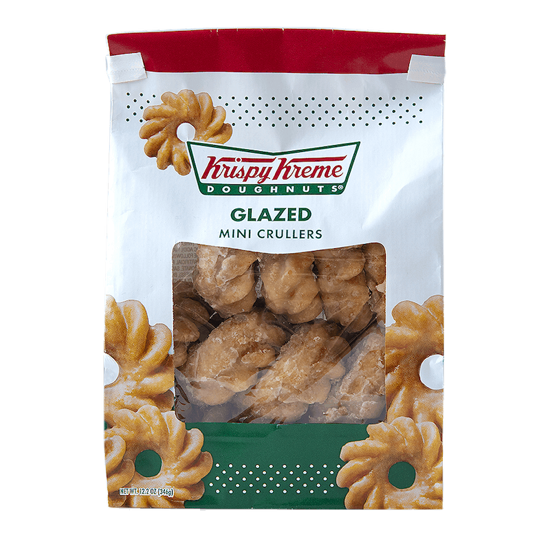 $0.35 for Krispy Kreme Snack Bag Doughnuts (expiring on Saturday, 04/25/2020). Offer available at multiple stores.