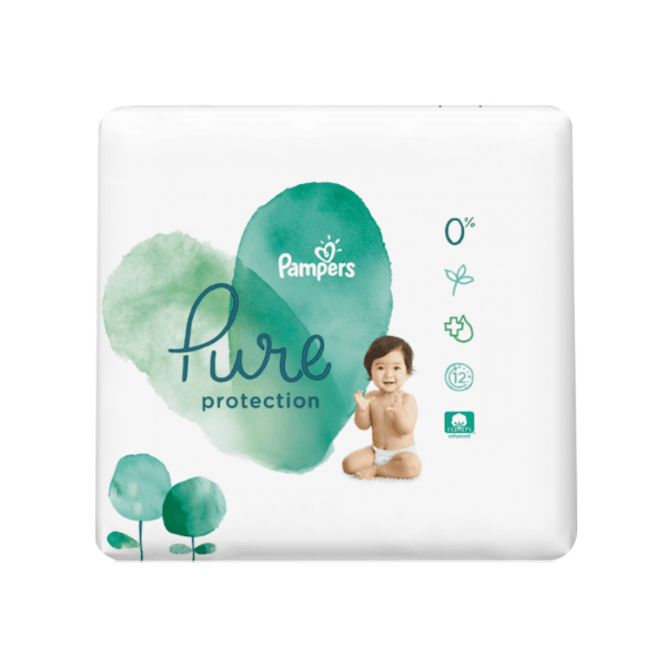 $3.00 for Pampers® Pure Protection Diapers. Offer available at multiple stores.