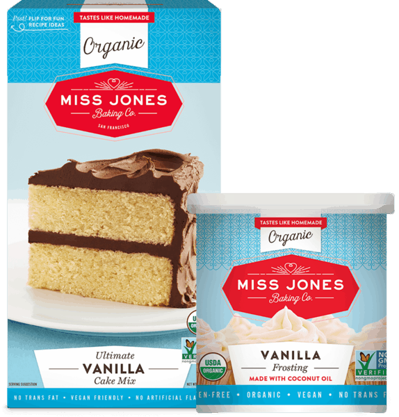 $1.00 for Miss Jones Organic Baking Mixes & Frostings (expiring on Thursday, 10/03/2019). Offer available at multiple stores.