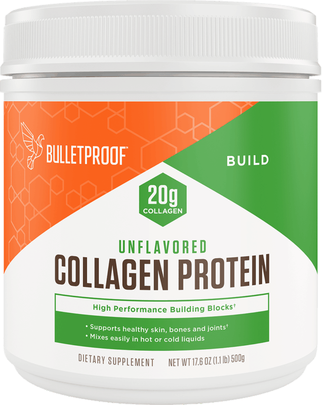 $10.00 for Bulletproof Collagen Protein Powder. Offer available at CVS Pharmacy.