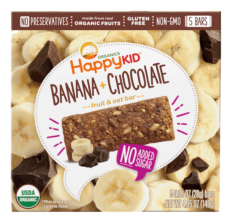 $1.00 for Happy Kid Organics Bars (expiring on Wednesday, 03/31/2021). Offer available at multiple stores.