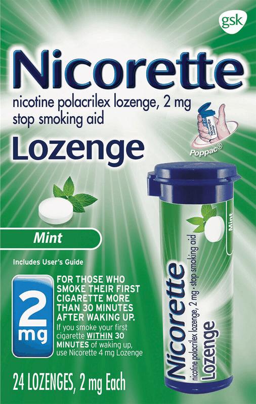 $5.00 for Nicorette Lozenge. Offer available at Walmart.