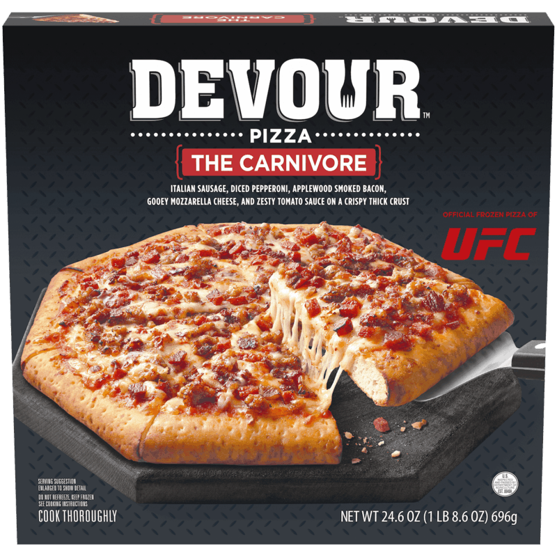 $1.25 for Devour™ Pizza. Offer available at multiple stores.