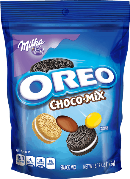 $1.00 for MILKA OREO Choco-Mix (expiring on Saturday, 10/28/2017). Offer available at multiple stores.