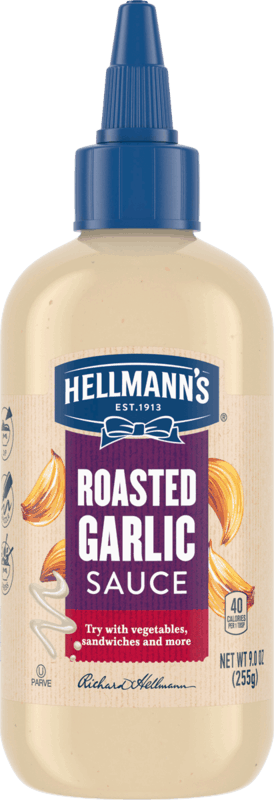 $1.00 for Hellmann's Roasted Garlic Sauce (expiring on Saturday, 10/31/2020). Offer available at multiple stores.