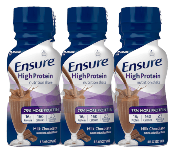 $1.00 for Ensure® High Protein Nutrition Shake. Offer available at Walmart.
