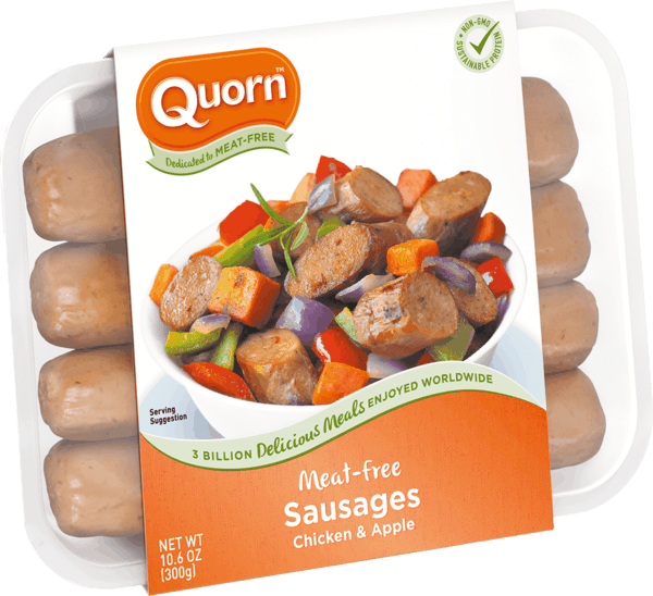 $0.75 for Quorn™ Meatless Chicken & Apple Sausages (expiring on Wednesday, 01/02/2019). Offer available at multiple stores.