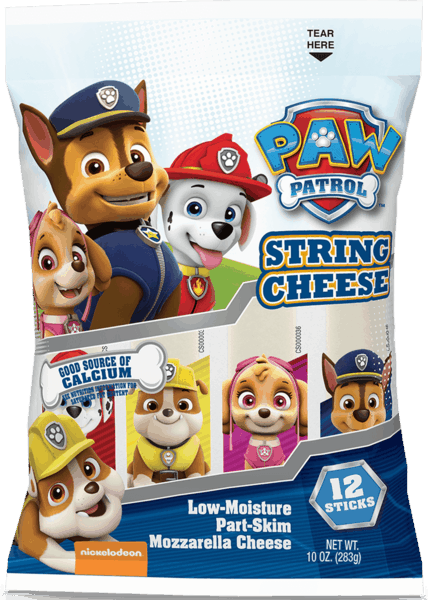 $0.75 for Paw Patrol™ Cheese (expiring on Thursday, 08/02/2018). Offer available at Walmart.