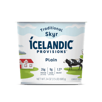 $1.50 for Icelandic Provisions™ Skyr. Offer available at multiple stores.