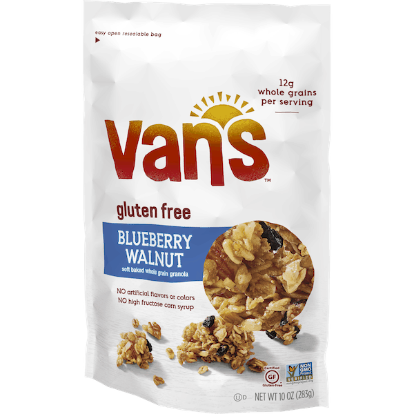 $0.50 for Van's™ Gluten Free Granola (expiring on Friday, 11/02/2018). Offer available at multiple stores.