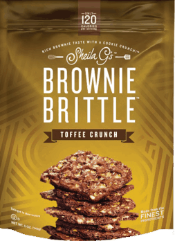 $1.00 for Brownie Brittle™ Toffee Crunch (expiring on Monday, 04/02/2018). Offer available at multiple stores.