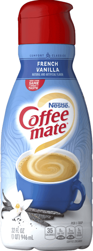 $0.50 for NESTLÉ Coffee mate Liquid Creamer (expiring on Monday, 04/13/2020). Offer available at Walmart, Walmart Grocery.