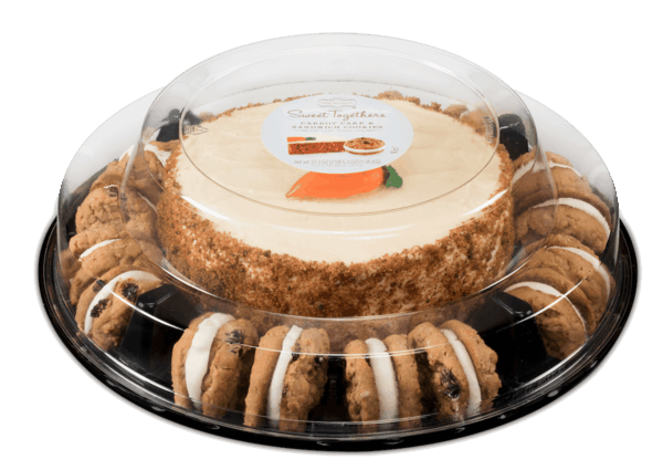 $4.00 for Sweet Togethers® Carrot Cake & Sandwich Cookies (expiring on Monday, 12/31/2018). Offer available at multiple stores.