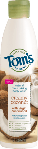 $1.00 for Tom's of Maine® Body Wash (expiring on Tuesday, 04/04/2017). Offer available at Walmart.