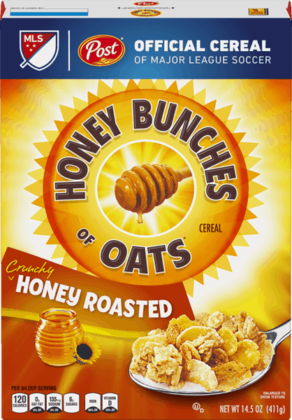 $0.35 for Honey Bunches of Oats® (expiring on Wednesday, 01/02/2019). Offer available at multiple stores.
