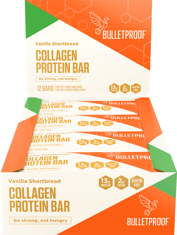 $10.00 for Bulletproof Collagen Protein Bars. Offer available at multiple stores.