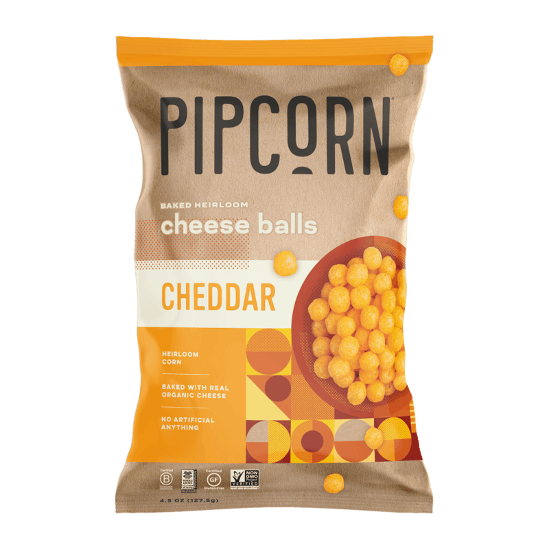 $1.20 for Pipcorn® Cheese Balls (expiring on Wednesday, 01/01/2020). Offer available at multiple stores.