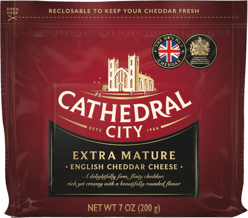 $1.00 for Cathedral City Cheddar Cheese (expiring on Monday, 01/31/2022). Offer available at multiple stores.