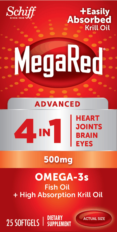 $2.50 for MegaRed® (expiring on Wednesday, 10/02/2019). Offer available at Walmart.