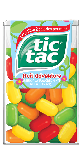 $0.25 for Tic Tac® Mints. Offer available at multiple stores.