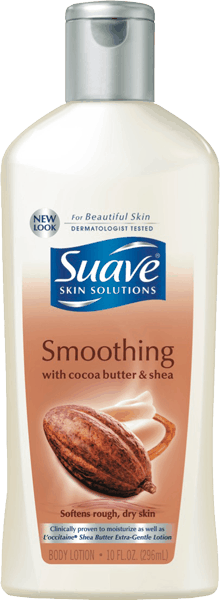 $0.50 for Suave® Body Lotion (expiring on Sunday, 04/02/2017). Offer available at Walmart.