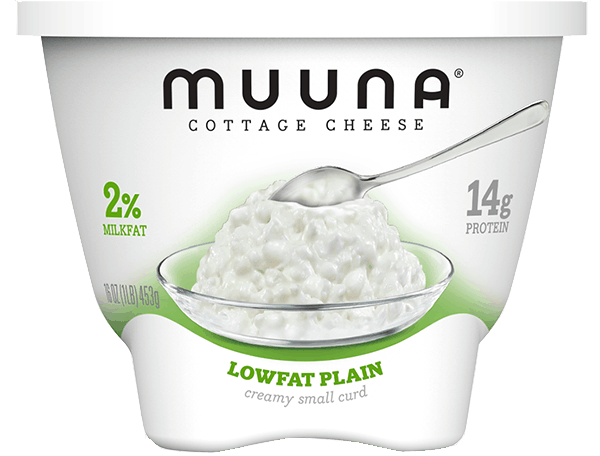$1.00 for Muuna® Cottage Cheese Lowfat Plain (expiring on Monday, 07/02/2018). Offer available at Walmart.