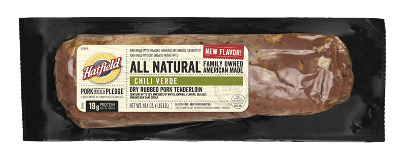 $1.00 for Hatfield Marinated Meat (expiring on Tuesday, 03/02/2021). Offer available at multiple stores.