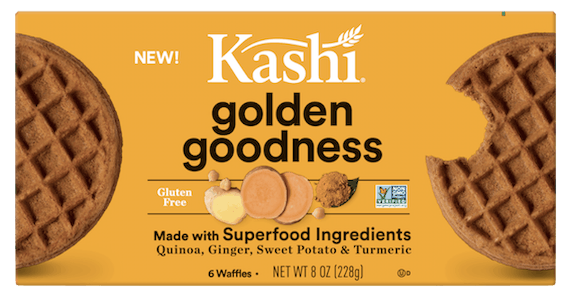 $1.00 for Kashi® Waffles Made with Superfoods (expiring on Thursday, 01/02/2020). Offer available at multiple stores.