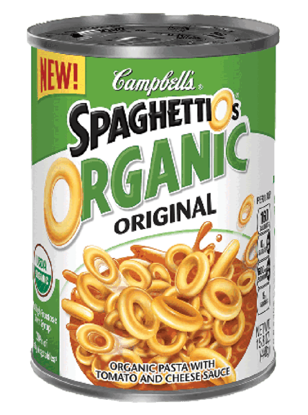 $0.50 for SpaghettiOs® Organic (expiring on Wednesday, 05/02/2018). Offer available at multiple stores.
