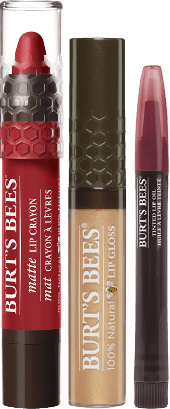 $2.00 for Burt's Bees® Lip Crayon, Lip Gloss, Tinted Lip Oil. Offer available at Target, Walmart, Walgreens, CVS Pharmacy.